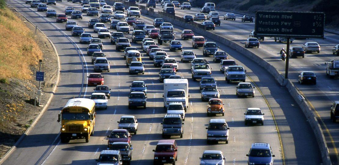 DL-LA highway traffic