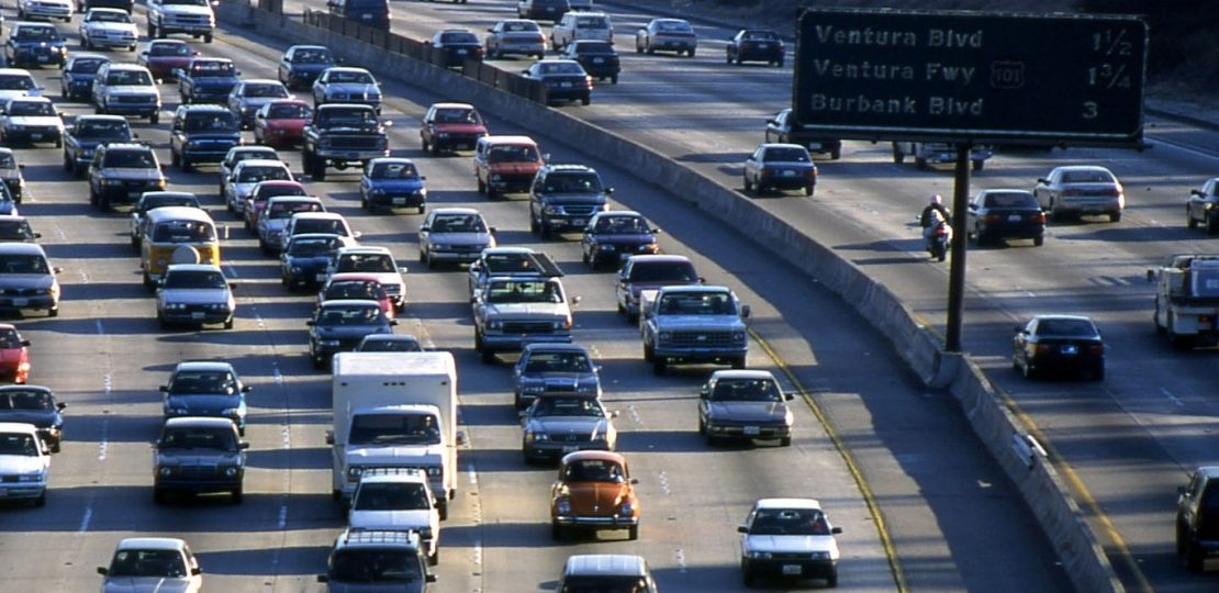 DL-LA highway traffic crop